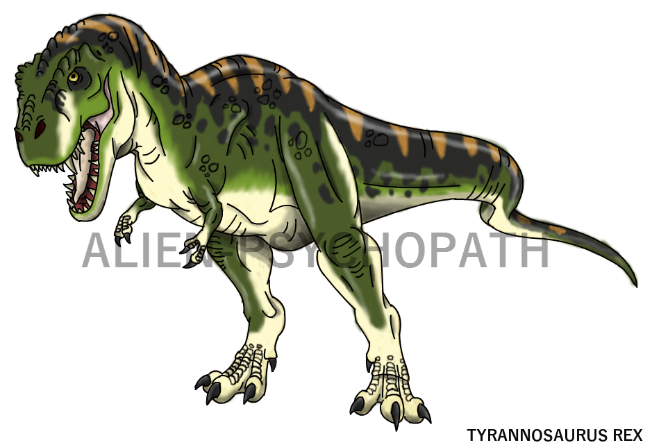Clipart dinosaur tyrannosaurus rex. Jurassic park jp by