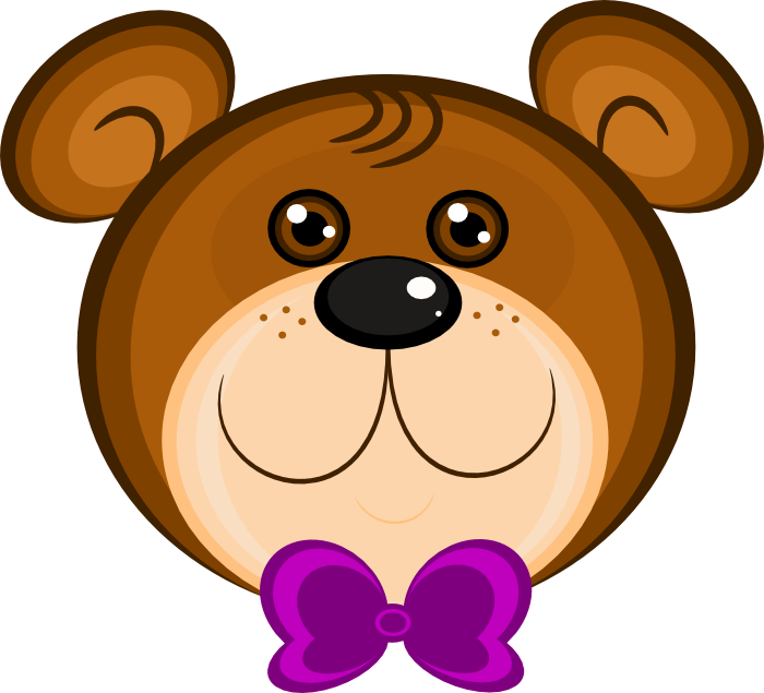 Hamster clipart grizzly bear. Cute teddy bow tie