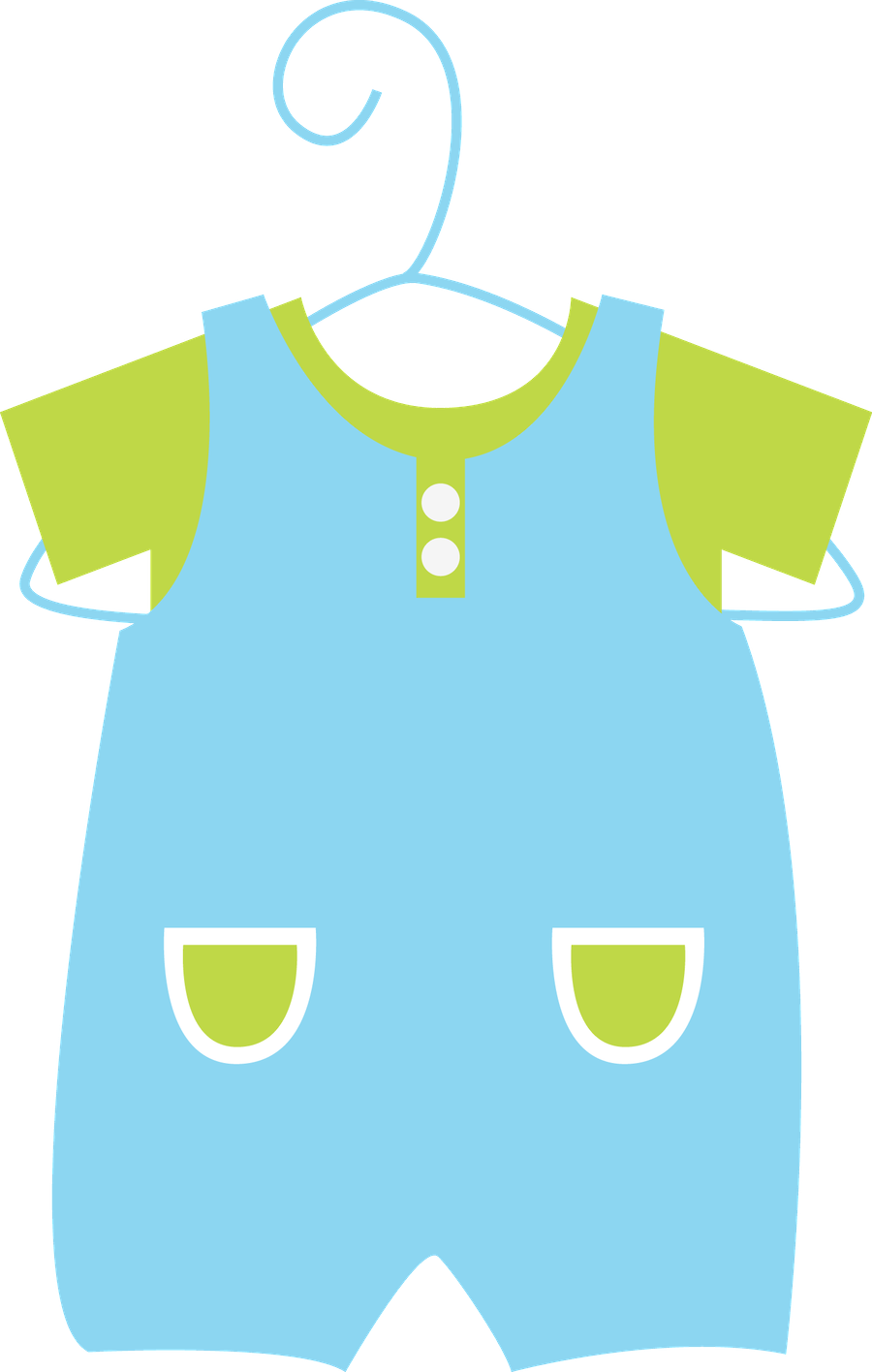 collection of baby. Clothes clipart sleep