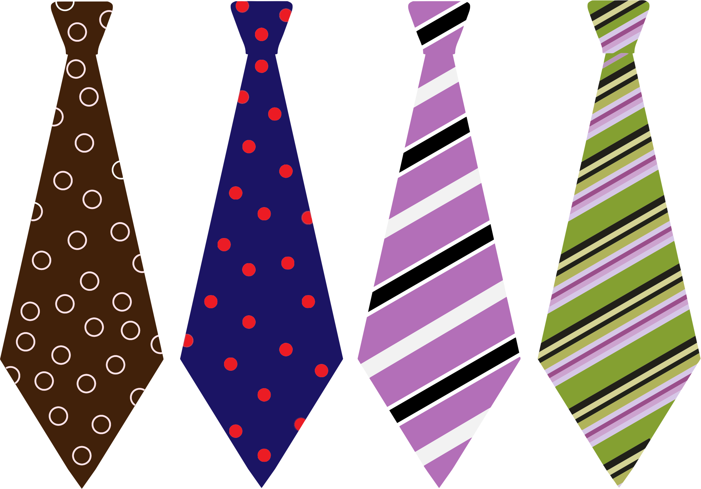 Purple clipart necktie. Silhouette at getdrawings com
