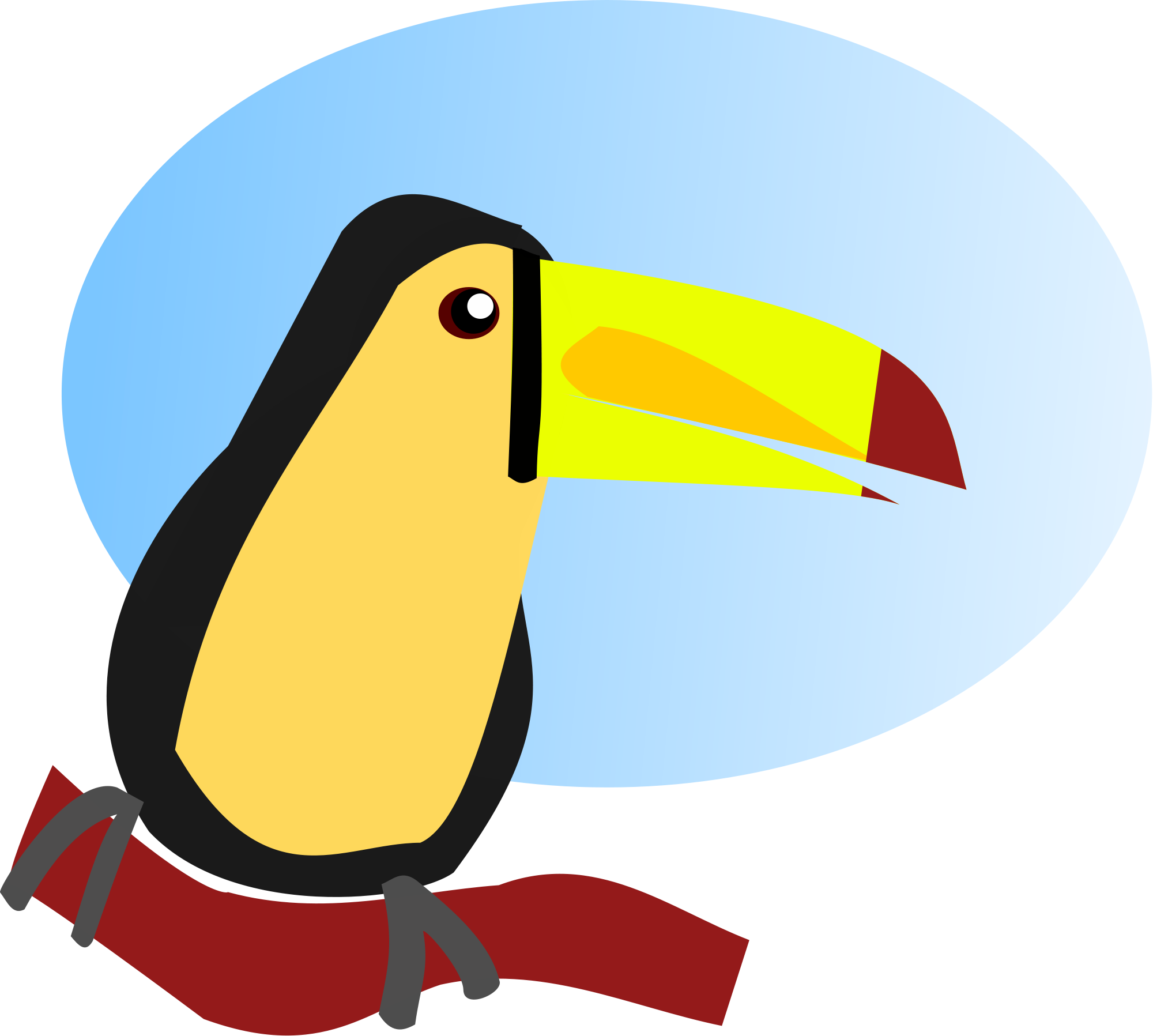 Cartoon file svg wikimediamons. Toucan clipart kid