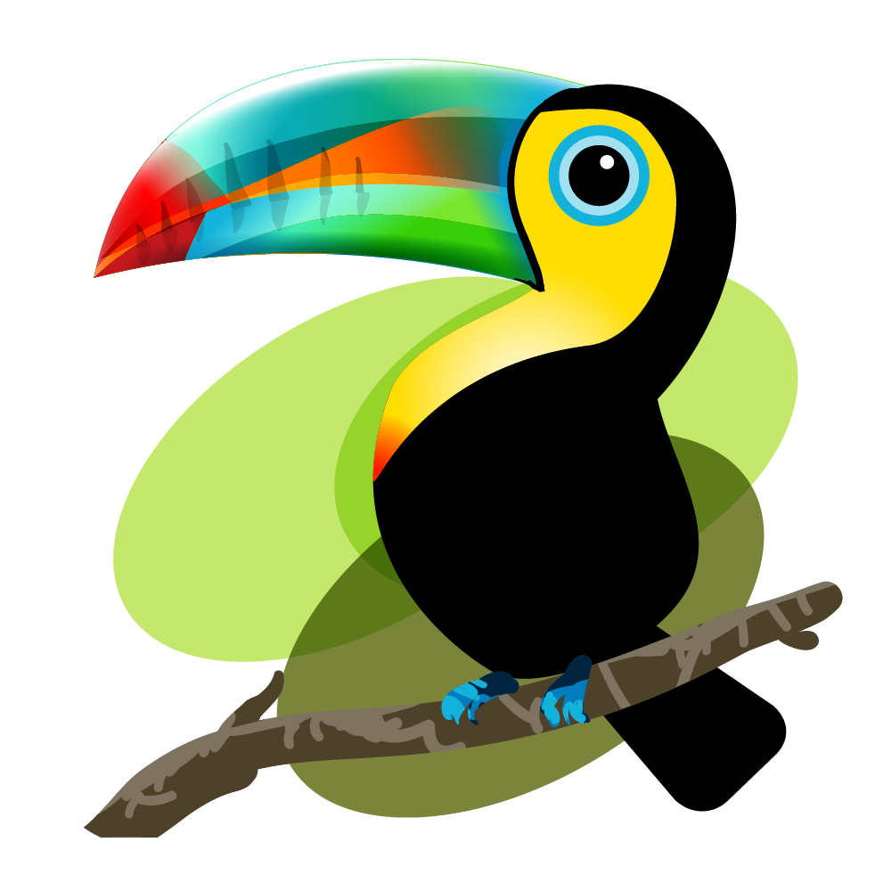 Iquitos bird baby mama. Pineapple clipart toucan