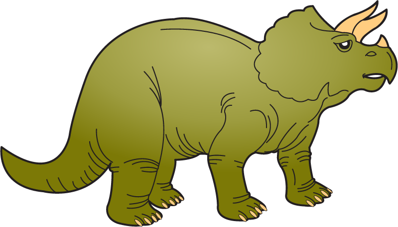 Triceratops free clip art. Dinosaur clipart triceratop