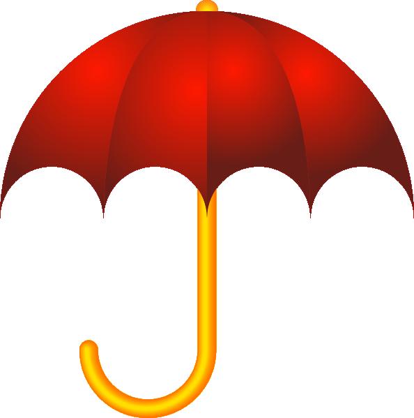 Clipart rain umbrella. Red closed panda free