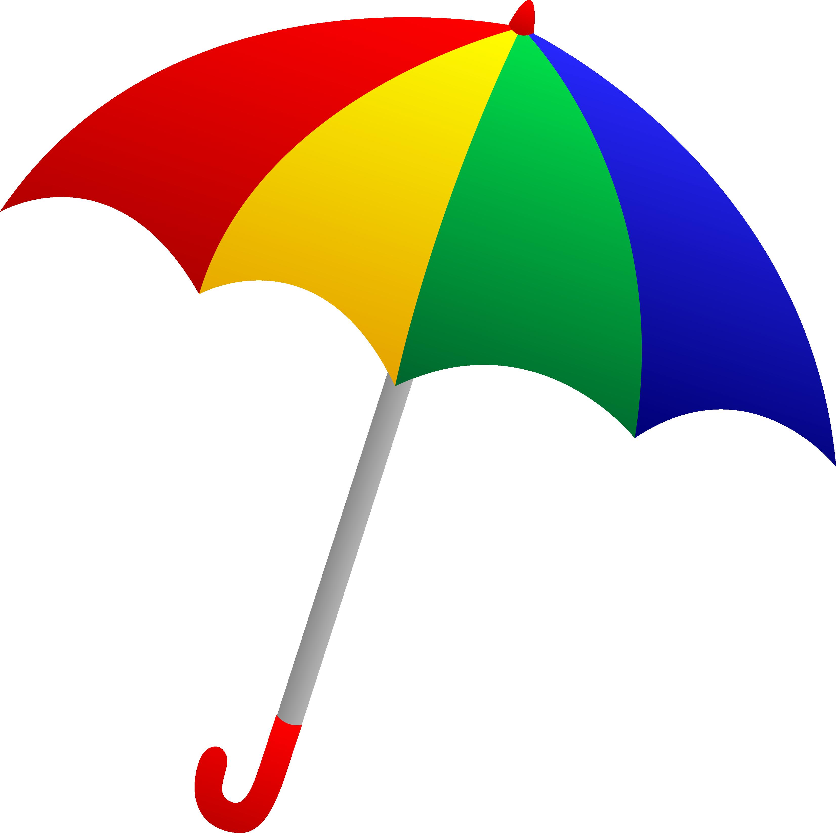 Fotos umbrella imagens clickgr. Clipart rainbow rain