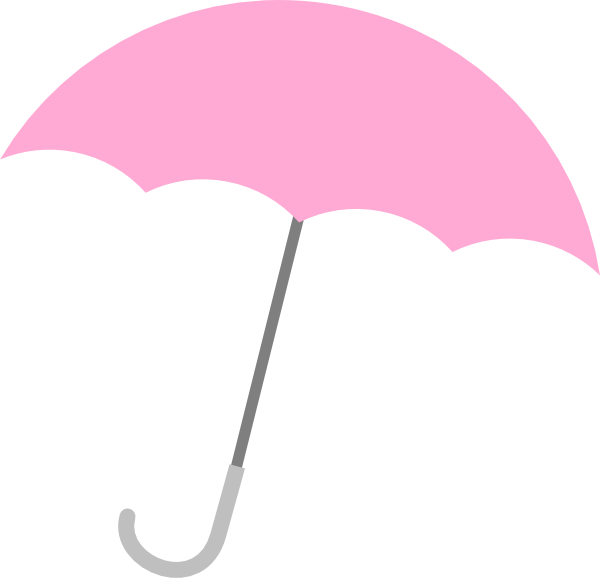 Umbrella . Clipart rose baby