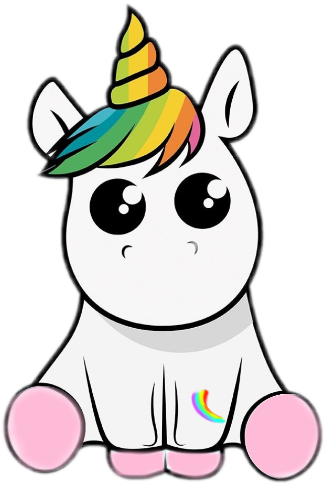 Clipart rose head. Baby unicorn at getdrawings
