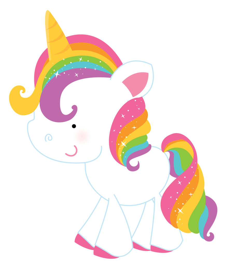 Rainbow unicorn png pinterest. Narwhal clipart elf movie
