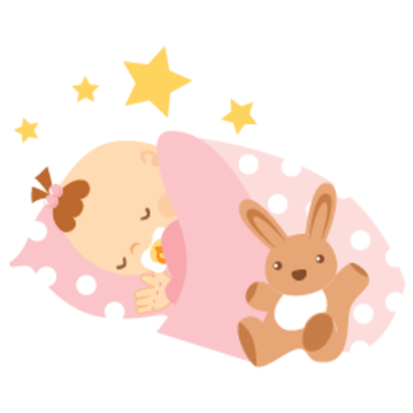 Image result for baby. Clipart bed sleeping