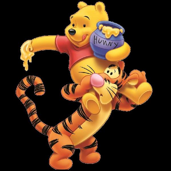 Baby winnie the pooh. Friendship clipart cute friend