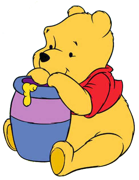 Perfume clipart baby cologne. Pooh bear at getdrawings