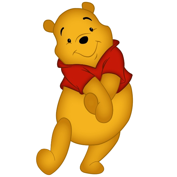 Baby winnie the pooh. Friends clipart teacher