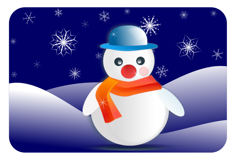 Winter snowy scenes sports. Make clipart snowman clipart