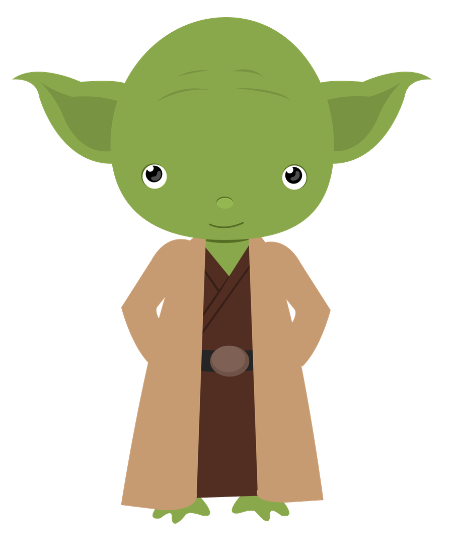 Star wars minus dibujos. Starwars clipart cute