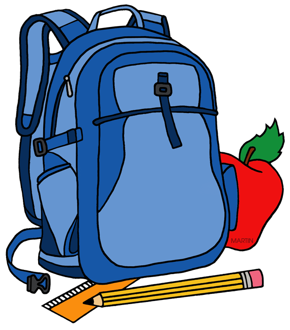 School clip art by. Clipart backpack