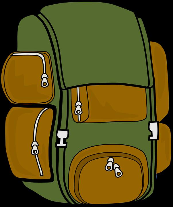 Resultado de imagen de mochilas dibujo png