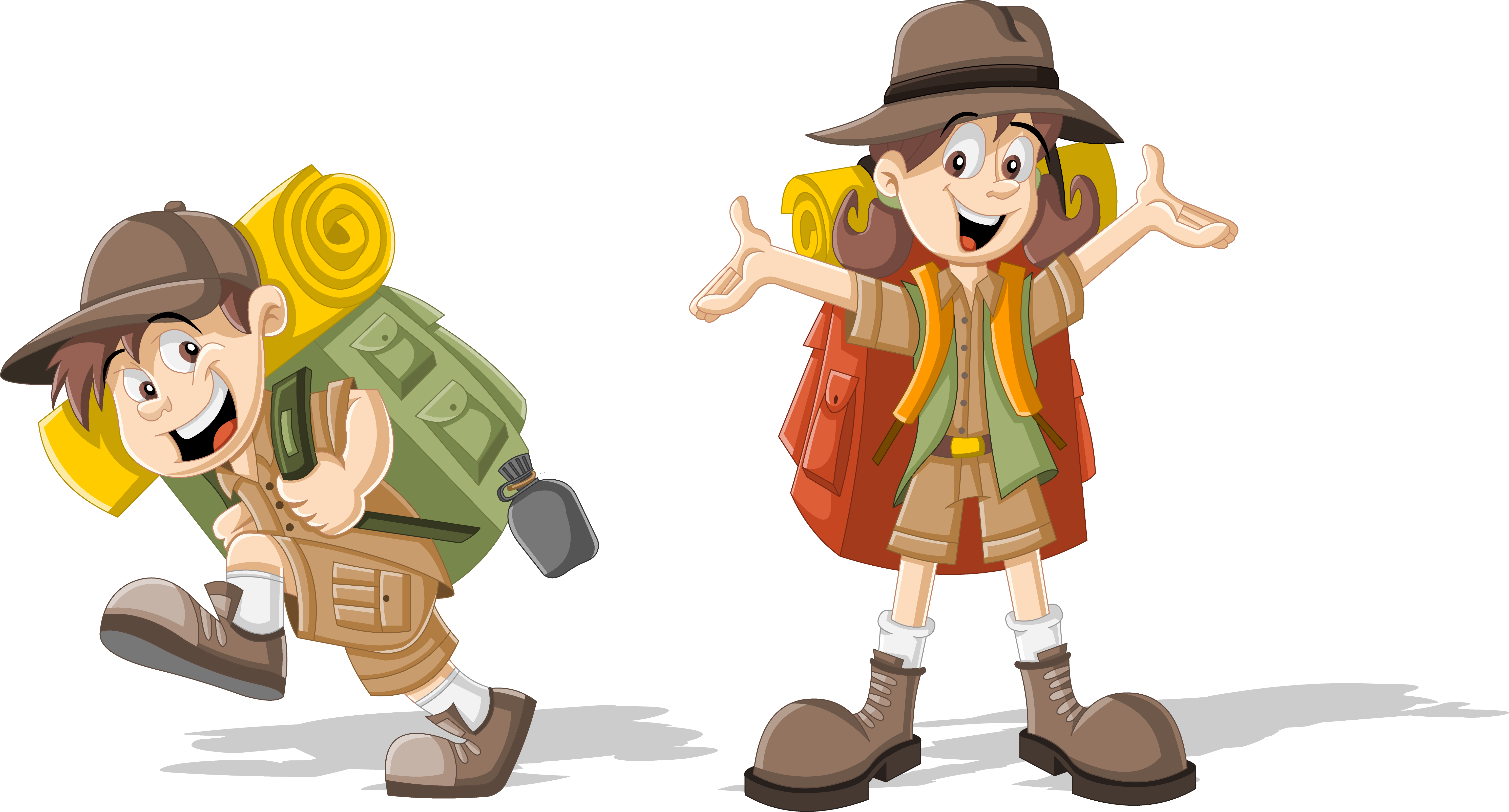 Scouting clip art children. Clipart backpack animated
