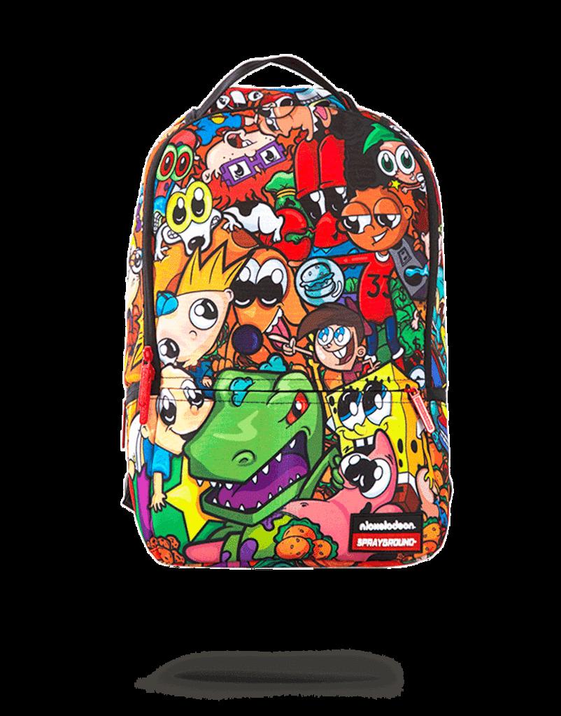 Anime s nickelodeon sprayground. Clipart backpack animated