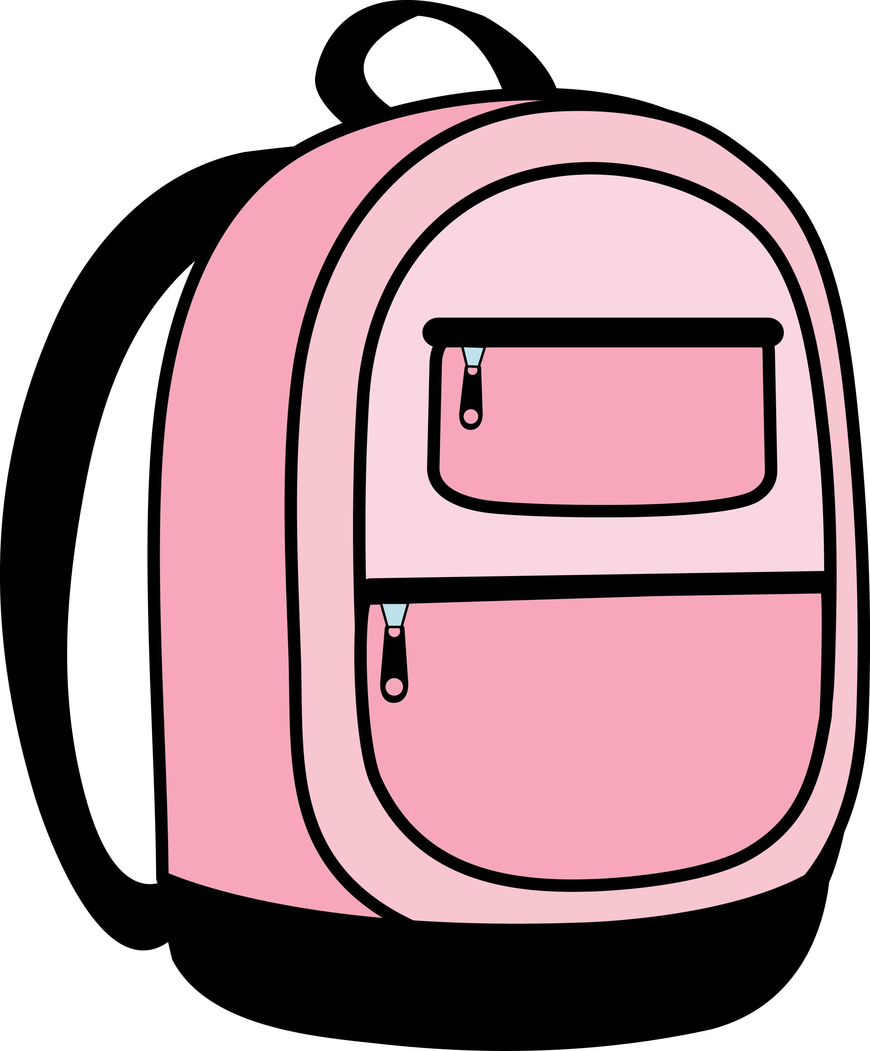 Clipart backpack animated. Pack panda free images