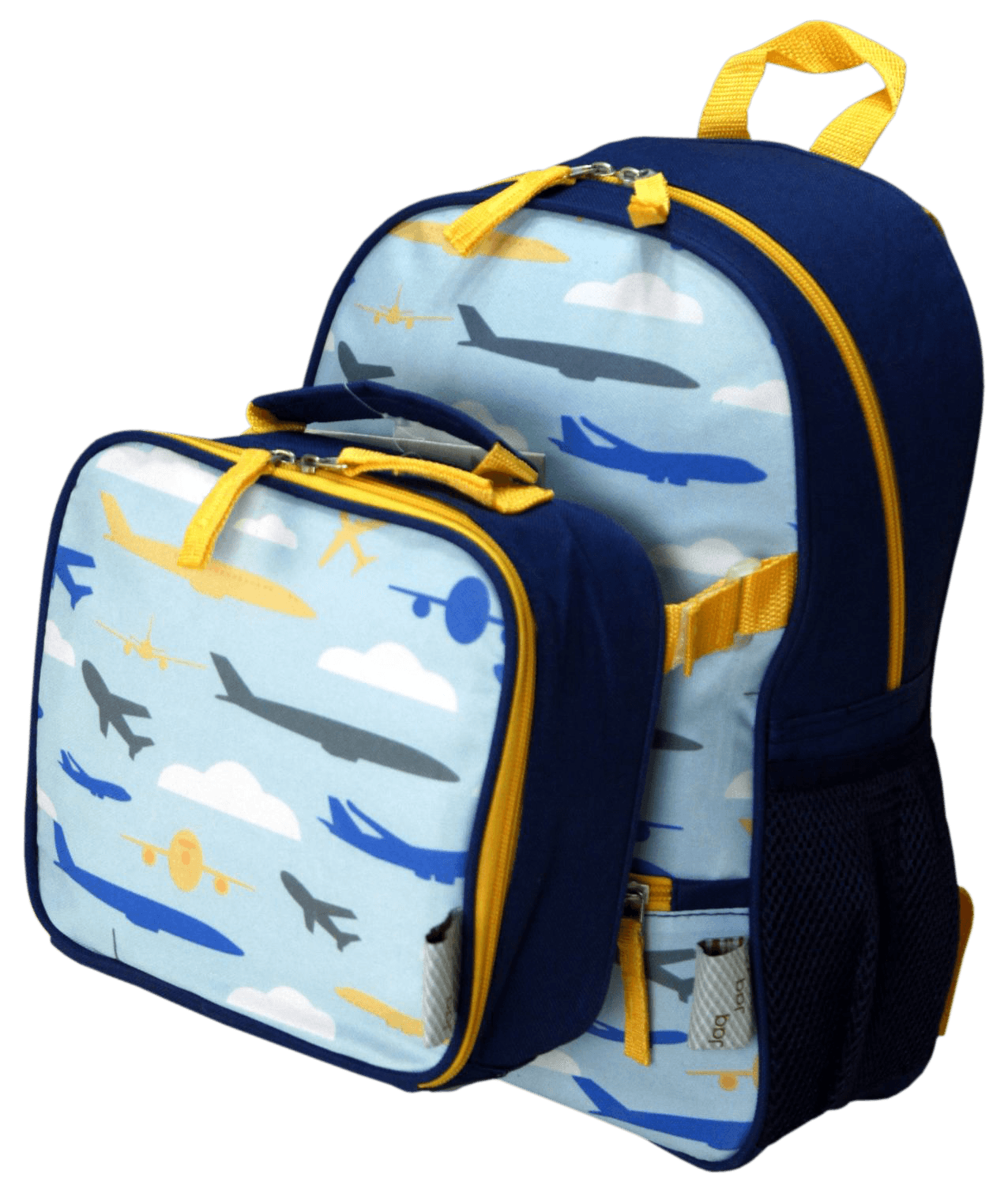 Backpack and box png. Lunchbox clipart lunch bag