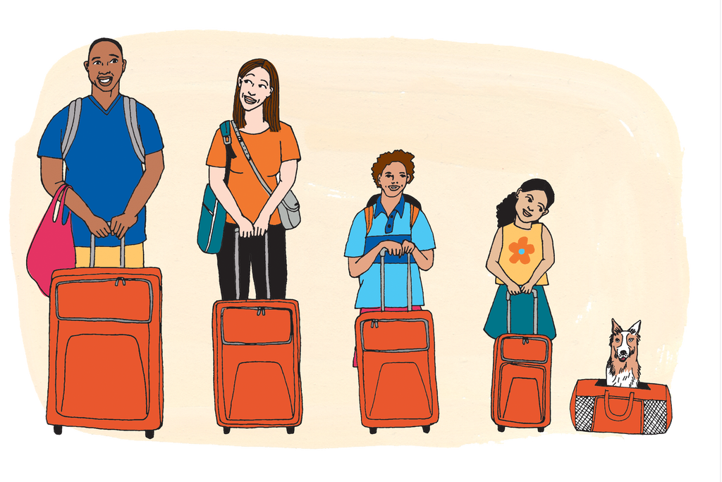 Clipart backpack belongings. How to pack a