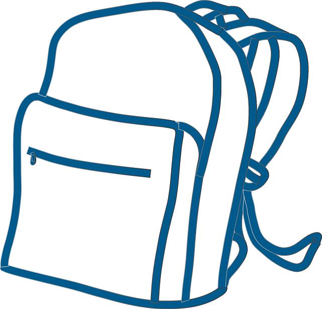 Of backpacks st james. Clipart backpack blessing backpack