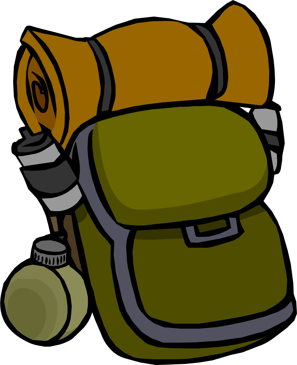Clipart backpack blue bag. Supply club penguin wiki