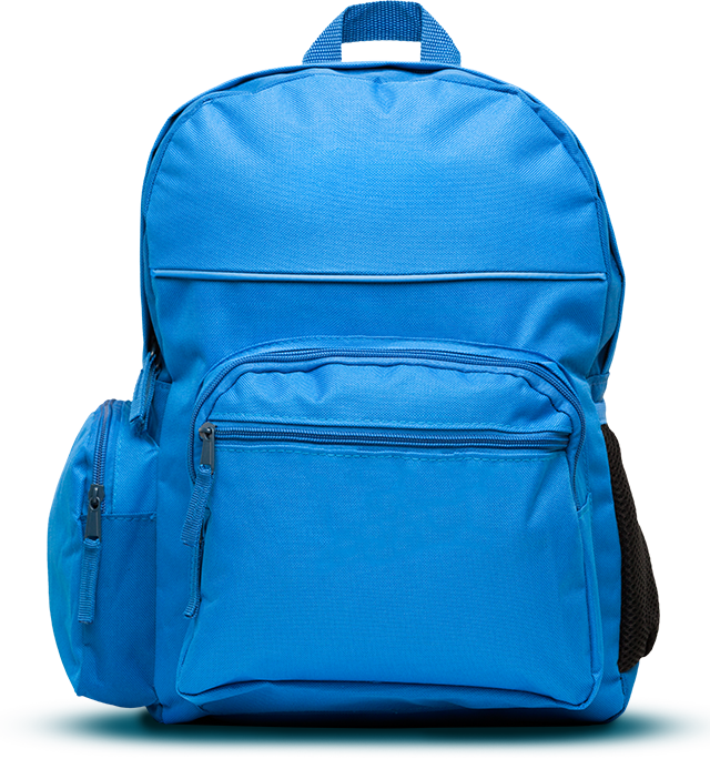 Clipart backpack blue item. What to pack mary