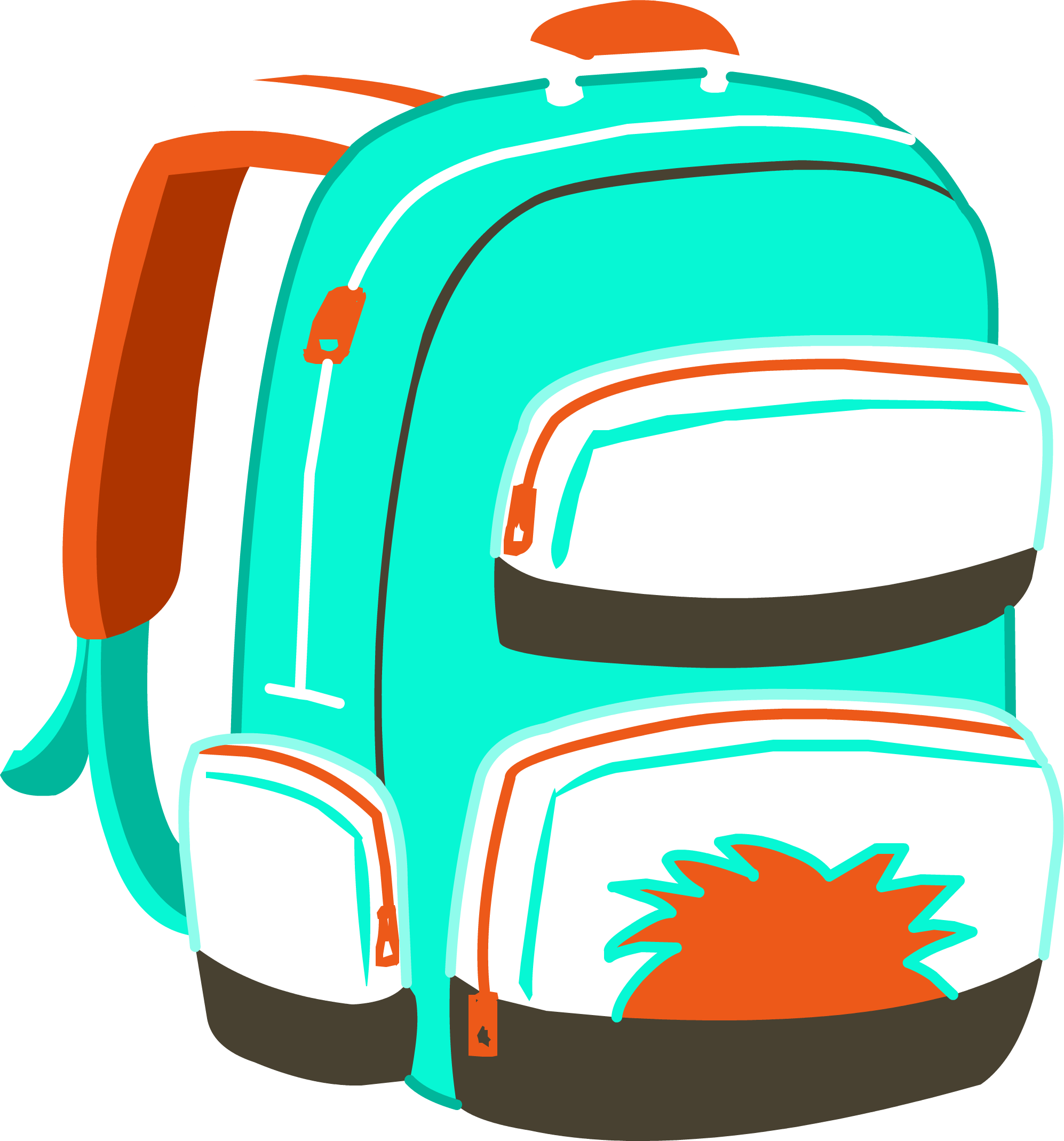 Clipart backpack blue item. Limited edition club penguin