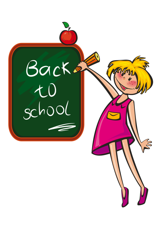 Albright middle homepage back. Clipart backpack boy in school uniform