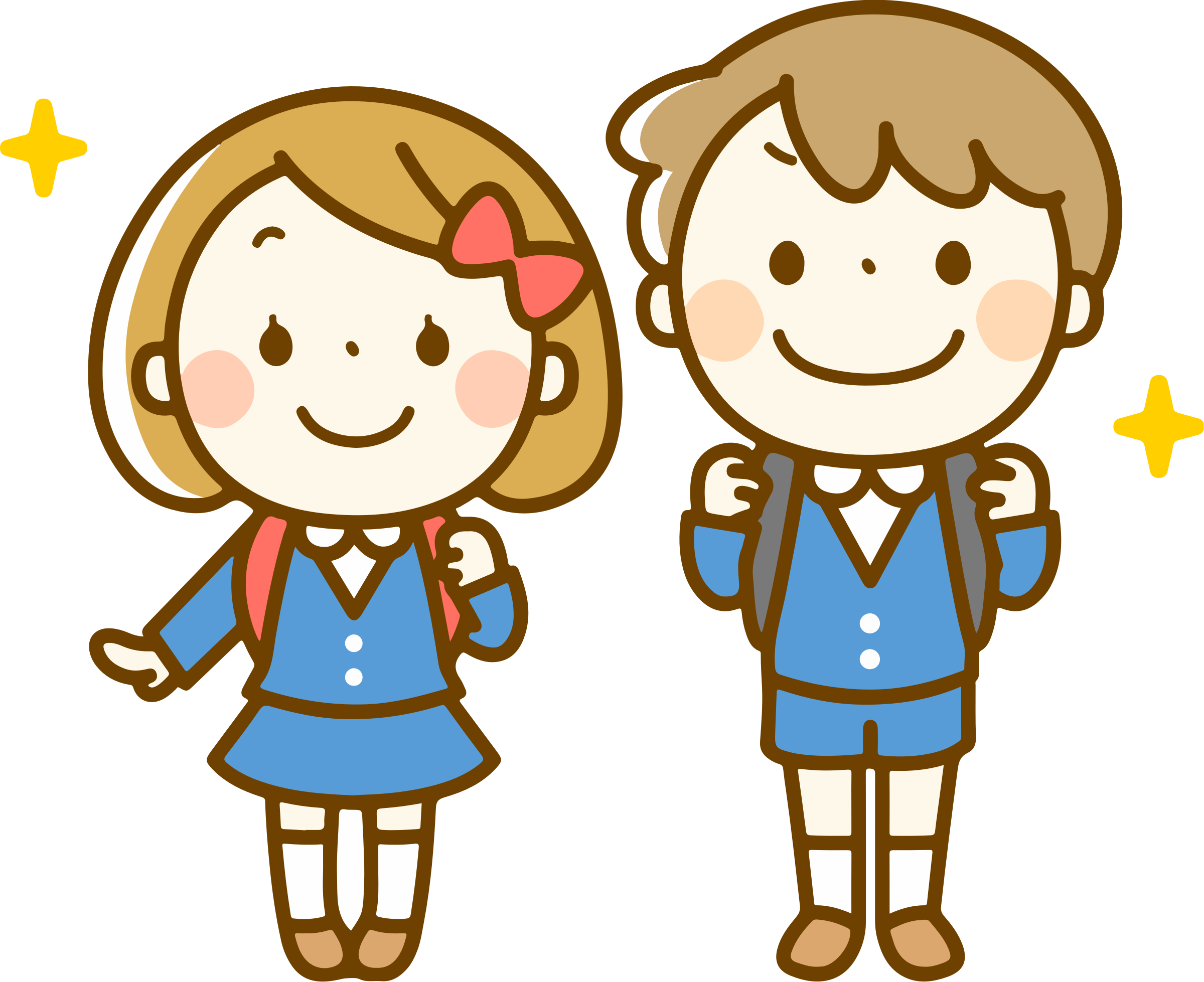 Clipart backpack boy in school uniform, Clipart backpack ...