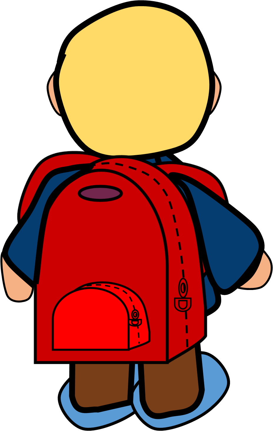clipart backpack classroom #61877783