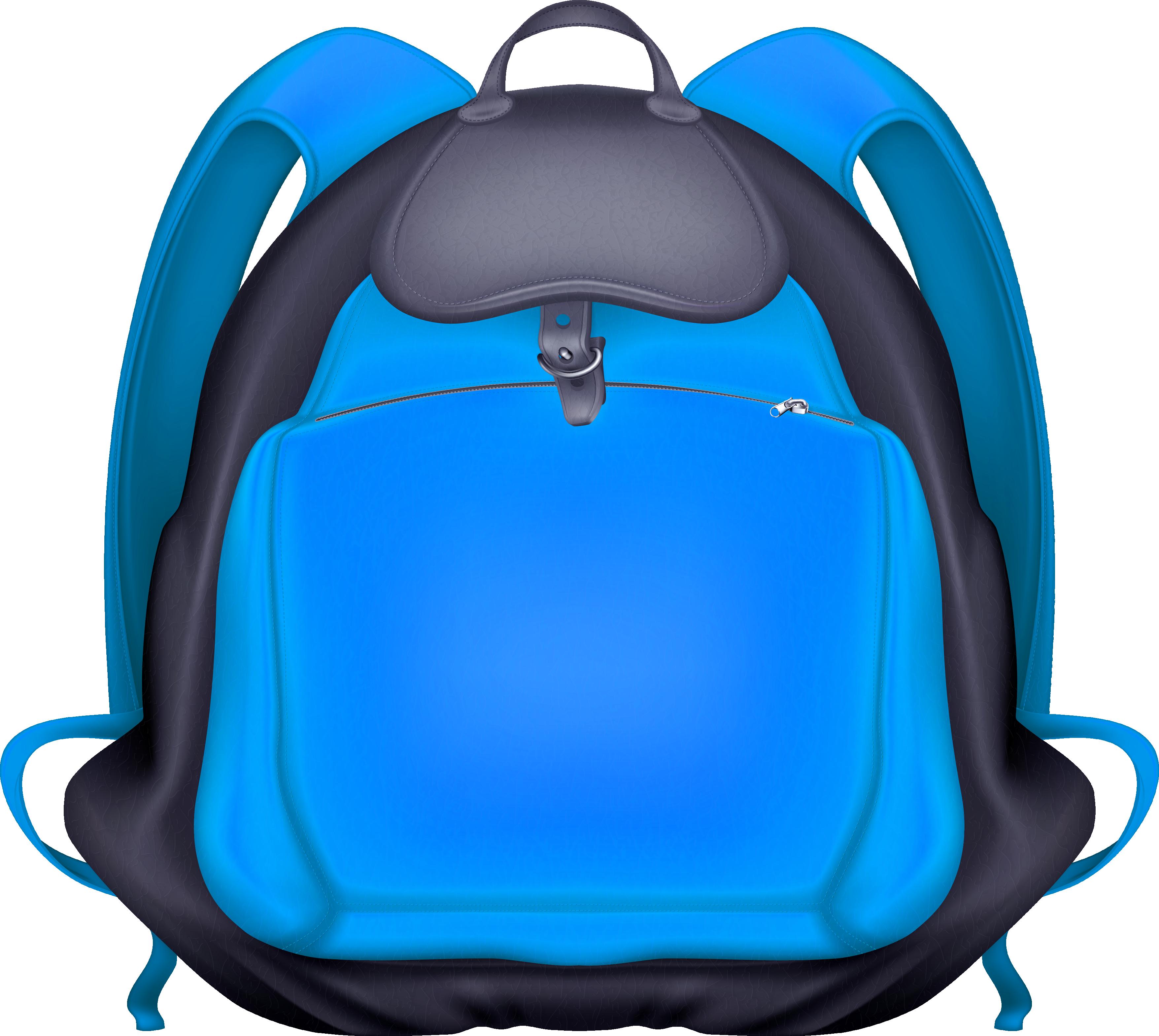 Backpack clipart blue backpack. Transparent png image purepng