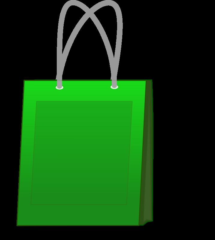 Lipstick clipart purse. Download green shopping bag