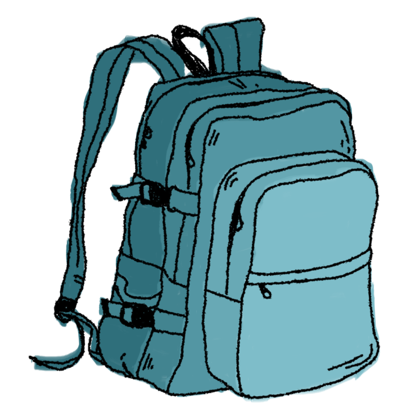 Clipart backpack four. School bag images clip