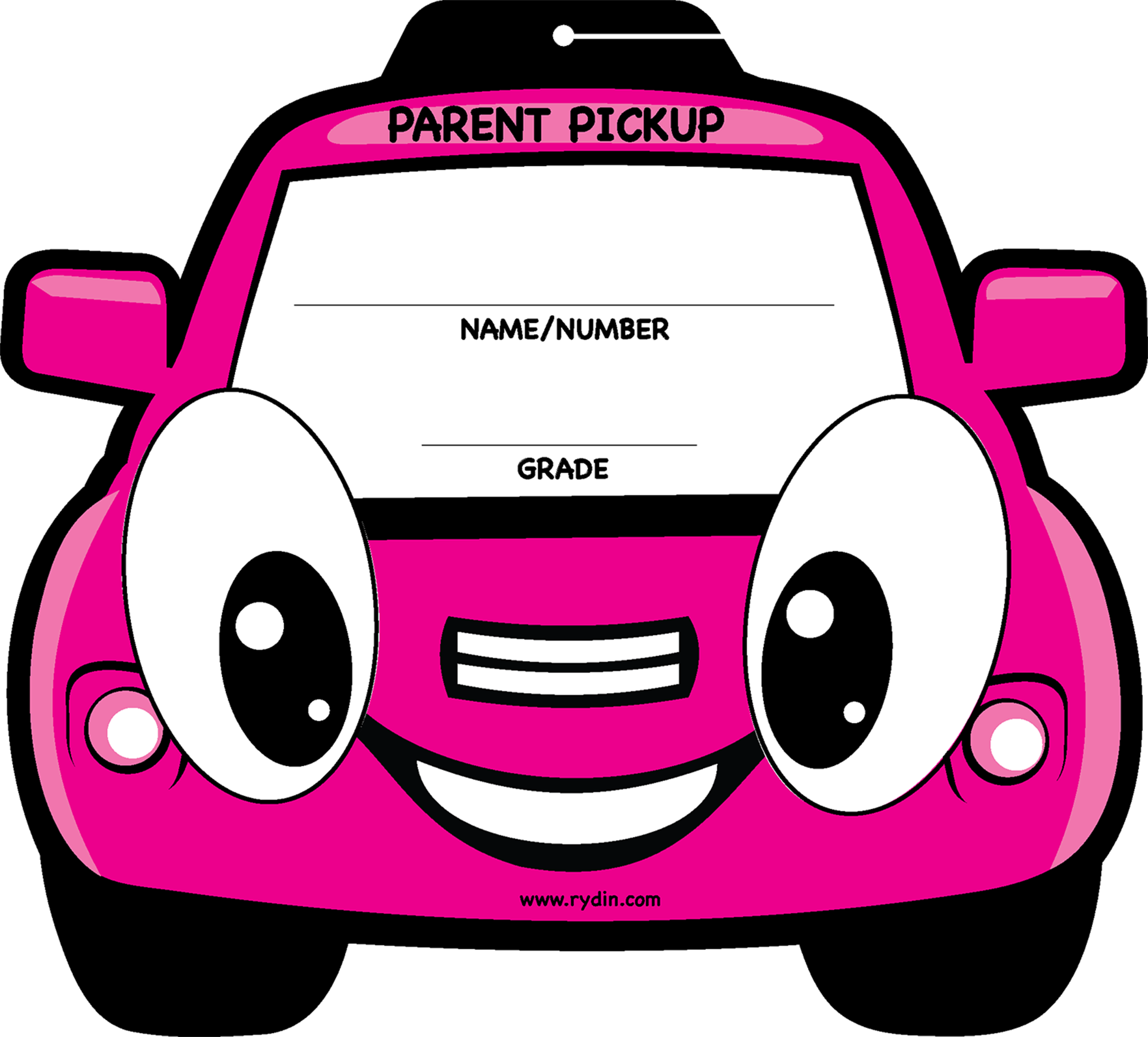 Parent pick up tags. Clipart backpack hang backpack