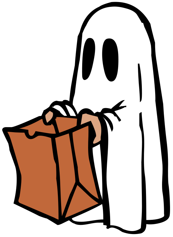 Hand clipart ghost. Goodie bag panda free