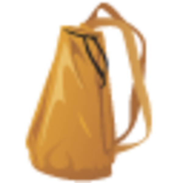 Knapsack icon free images. Clipart backpack haversack