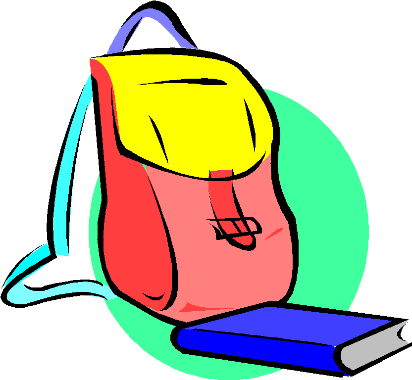 Royalty free clip art. Clipart backpack haversack