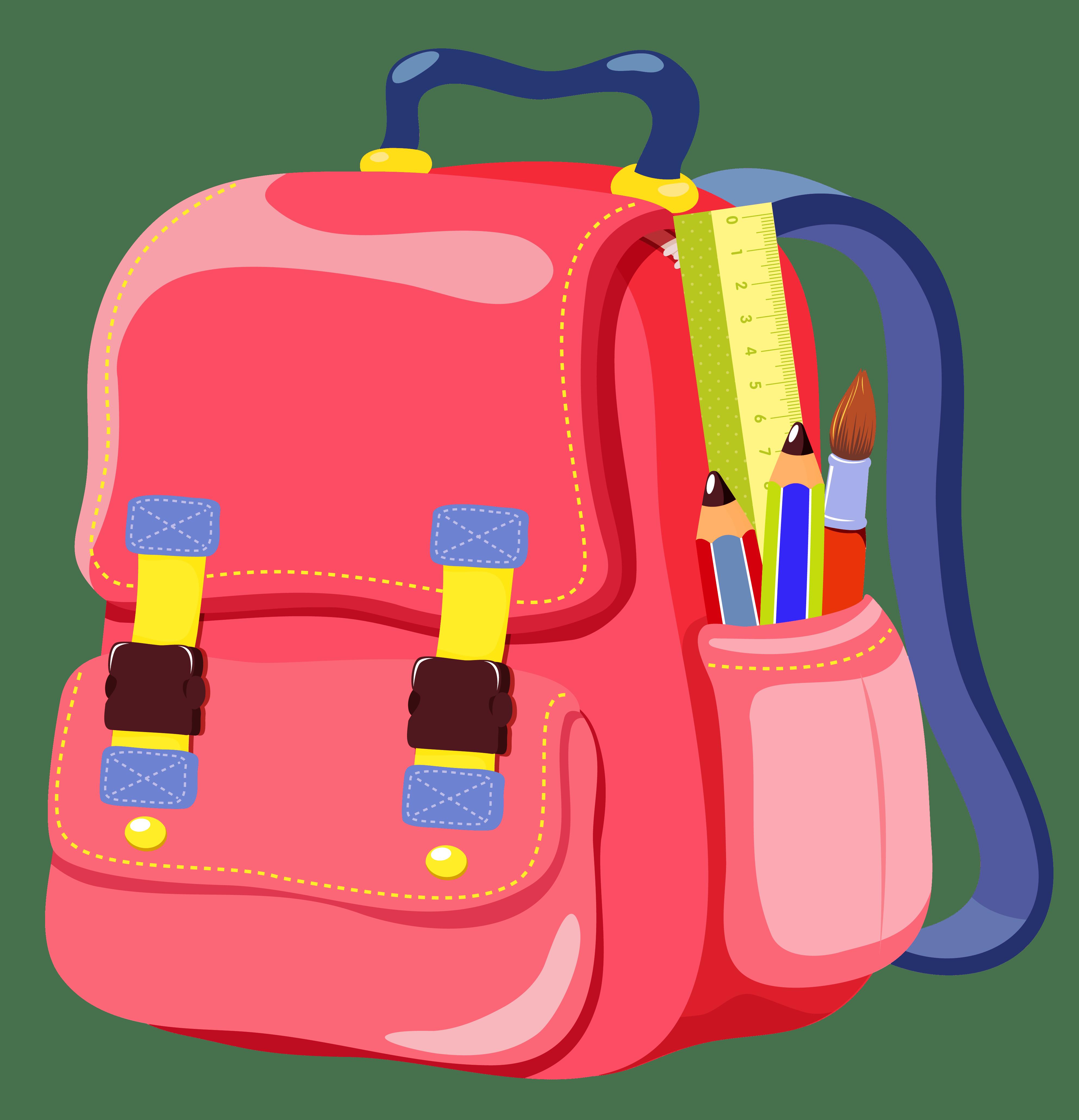 Luggage clipart baggage claim. School bag mail milton