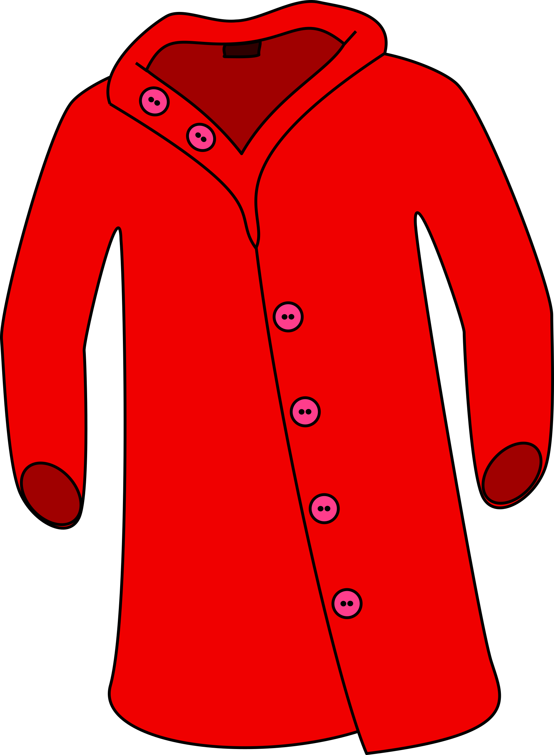 collection of jacket. Pirates clipart coat