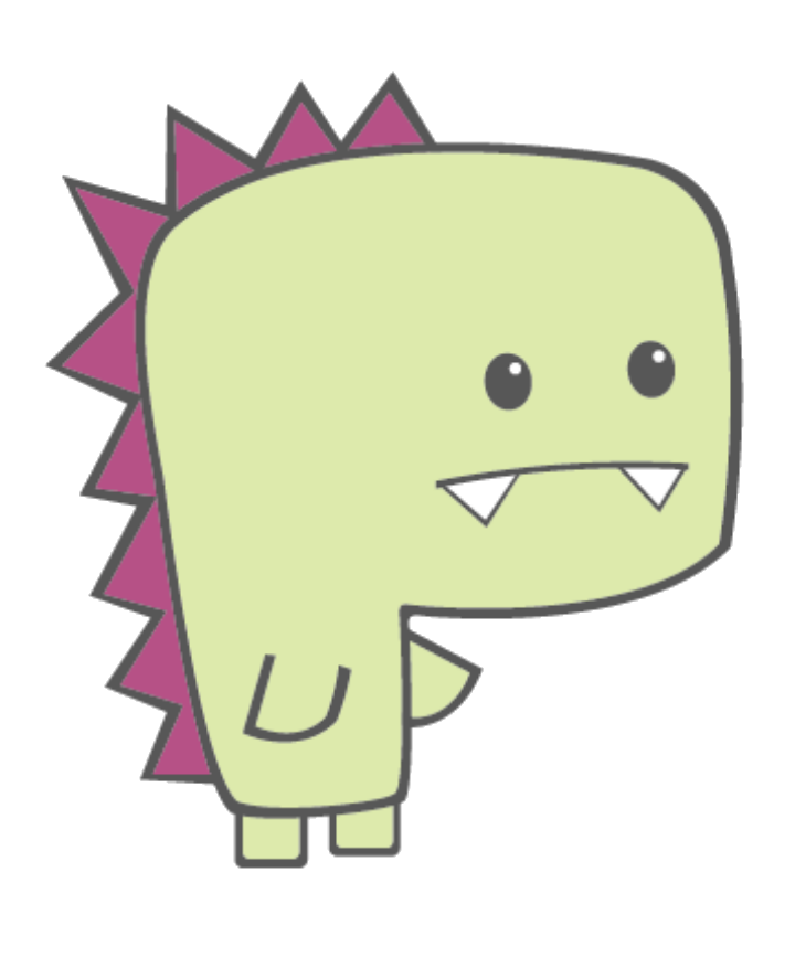 Dinosaur png by yeyangarts. Clipart backpack kawaii