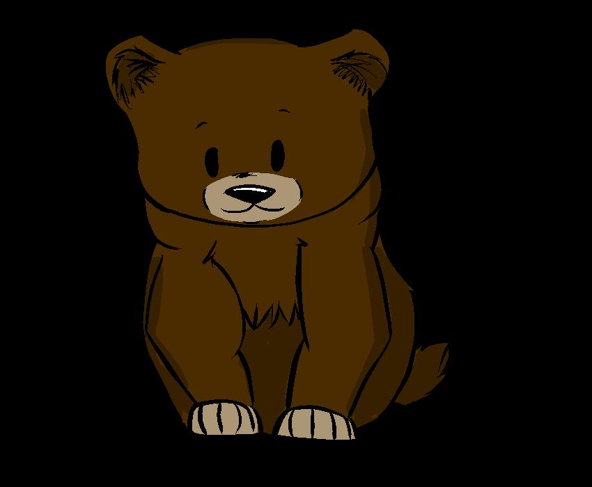 Fan clipart cute. Seekers bears toklo by