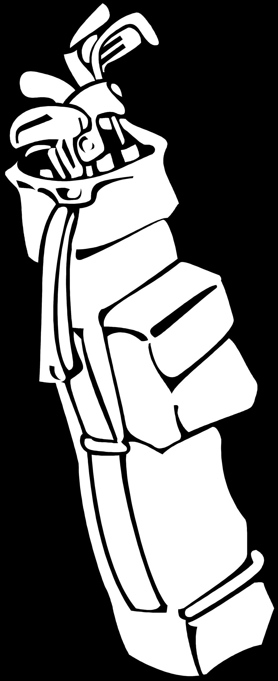 Golf bag at getdrawings. Golfer clipart pencil drawing