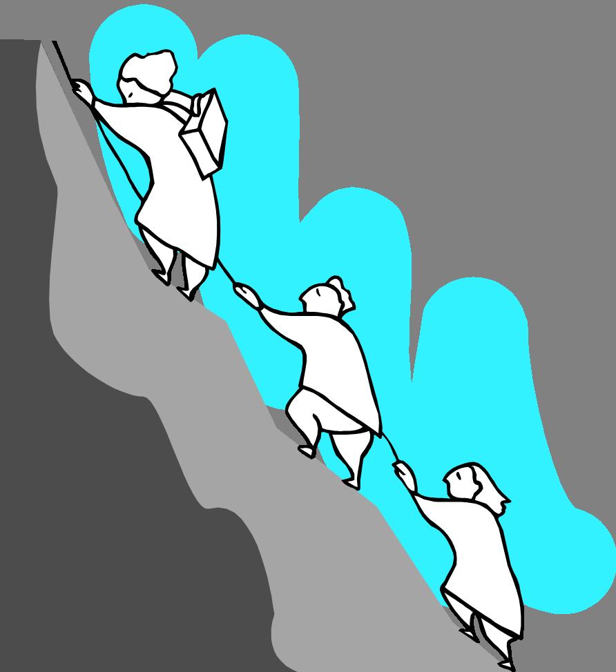 Hiking clip art panda. Clipart mountain bitmap