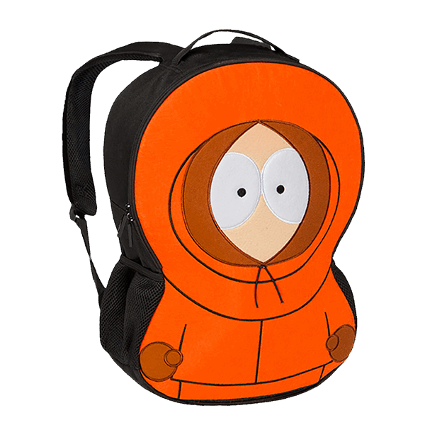 South park the dead. Clipart backpack orange backpack