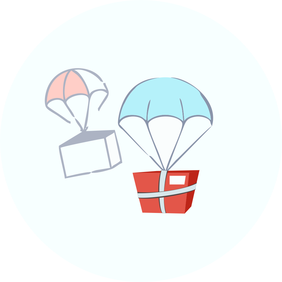 Clipart backpack parachute. Red elephant add the