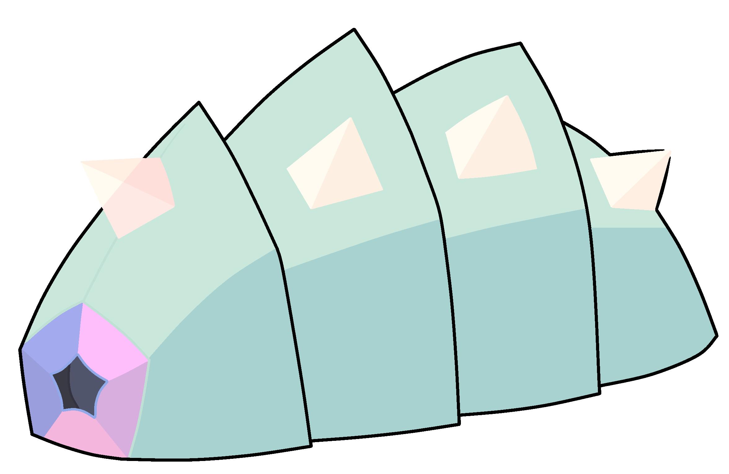Shrimp steven universe wiki. Crystal clipart green crystal