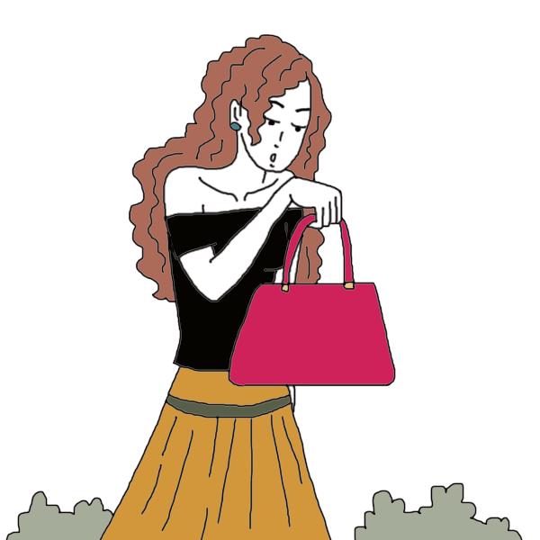 Finding a bag dream. Dreaming clipart final thought