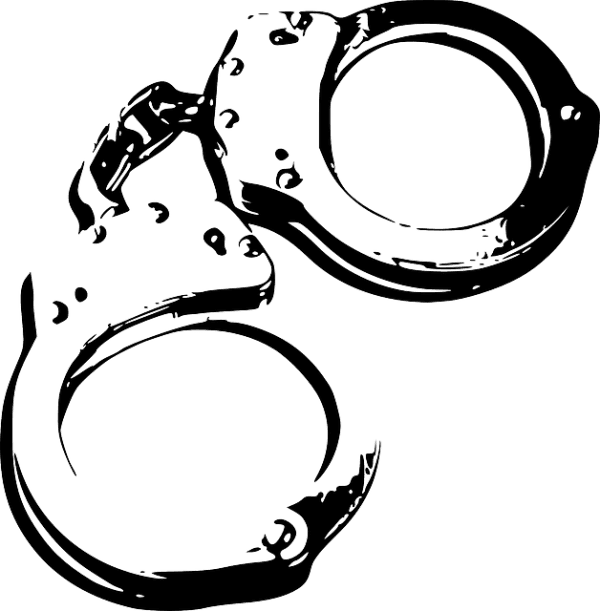 Wisconsin drug possession lawyer. Handcuffs clipart bad cop